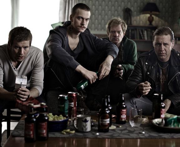 KYRRE HELLUM, ARTHUR BERNING, ANDREAS CAPPELEN, MADS OUSDAL (TROND HØINES/FANTEFILM)
