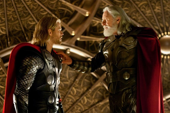 TOR ALIAS CHRIS OG ODIN ALIAS ANTHONY (ZADE ROSENTHAL/MARVEL/PARAMOUNT/UNITED INTERNATIONAL PICTURES)