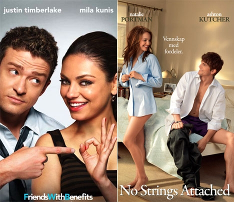 FRIENDS WITH STRINGS ATTACHED WITH BENEFITS? (SCREEN GEMS/UNITED INTERNATIONAL PICTURES)