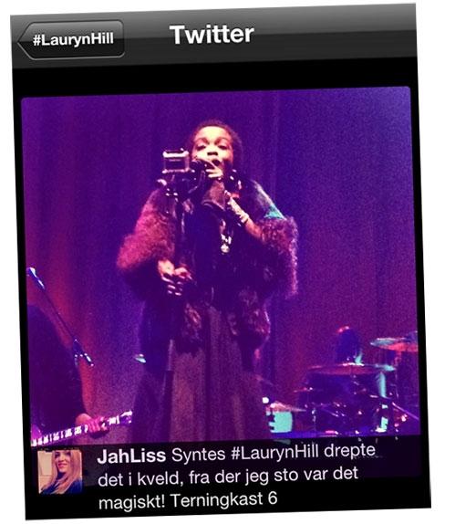 Lauryn Hill i Oslo Spektrum