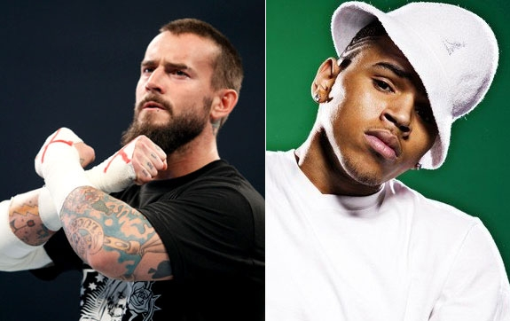 CM PUNK VS. CHRIS BROWN (WWE, SONY)