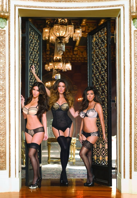 KIM, KHLOE OG KOURTNEY (KARDASHIAN KOLLECTION)