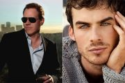BRET OG EN AV HANS FAVORITTER: IAN SOMERHALDER (JEFF BURTON, THE CW)