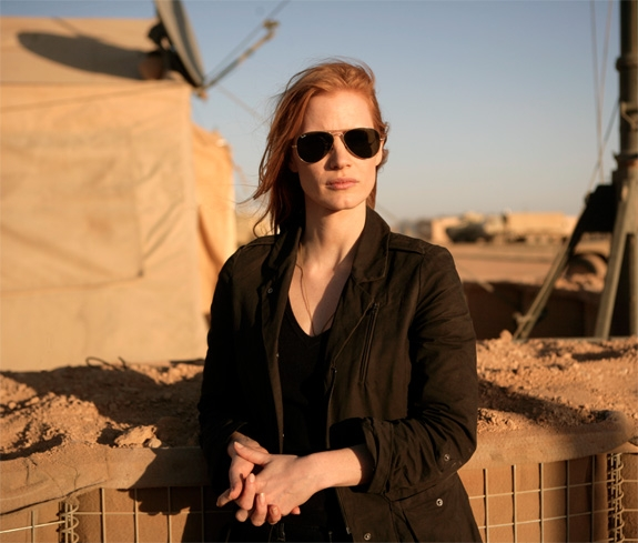 JESSICA CHASTAIN SOM CIA-AGENTEN MAYA (JONATHAN OLLEY/COLUMBIA/UNITED INTERNATIONAL PICTURES)