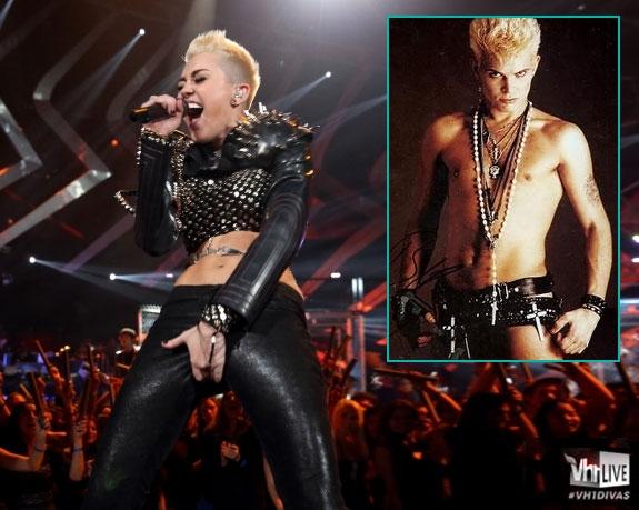 REBELLEN MILEY GÅR FOR BILLY (VH1, CHRYSALIS)