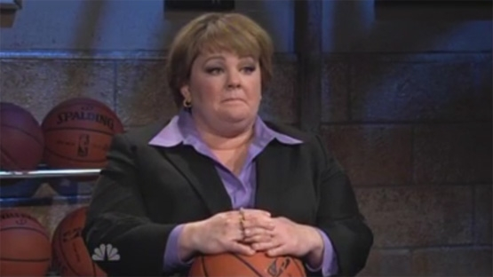MELISSA MCCARTHY AKA SHEILA KELLY THE BASKETBALL COACH (NBC)