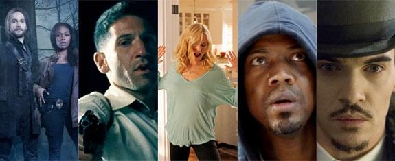 SLEEPY HOLLOW, MOB CITY, TROPHY WIFE, MARVEL'S AGENTS OF S.H.I.E.L.D., DRACULA (FOX, TNT, ABC, NBC)