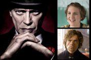 STEVE BUSCEMI SOM NUCKY, LENA DUNHAM SOM HANNA, PETER DINKLAGE SOM TYRION LANNISTER (HBO)