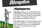 PRETTY FLY FOR A WHITE GUY (AFTENPOSTEN)