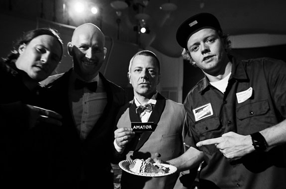 9 & P MED TOMMY TEE OG DJ HERKULES PÅ NATIONAL RAP SHOWS 20 ÅRS DAG (KNIRCKEFRITT)