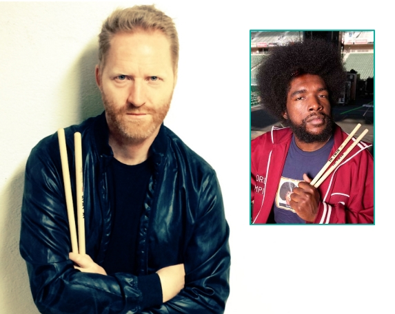 KIM OFSTAD + THE ROOTS' EGEN QUESTLOVE (PRIVAT/VIC FIRTH)