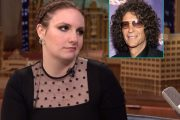 LENA DUNHAM & HOWARD STERN (NBC)