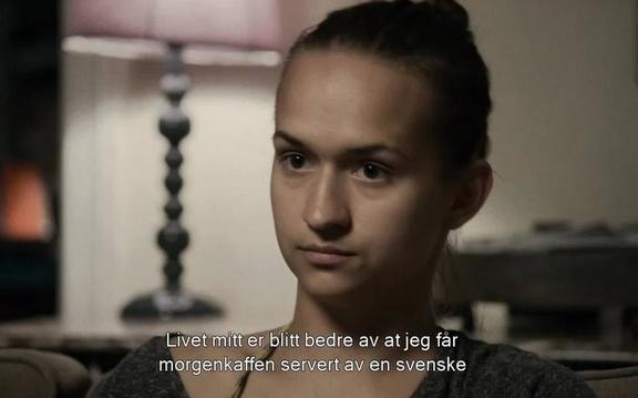 BIANCA KRONLÖF & NORSKE HENRIK RAFAELSEN, BLANT ANNET KJENT FRA BLIND (HUMMEL FILM/EUFORIA FILM)