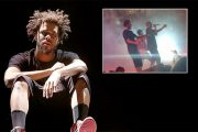 THE WEEKND J. COLE MED MYE BANG FOR THE BUCK (ROC NATION, TWITTER)