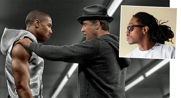 MICHAEL SOM CREED, SLY SOM ROCKY, FUTURE PÅ SOUNDTRACKET (SF NORGE/NEW LINE/MGM/WARNER)