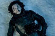 SIST VI SÅ JON SNOW VIRKET HAN GANSKE DØD (SKJERMBILDE/HBO)
