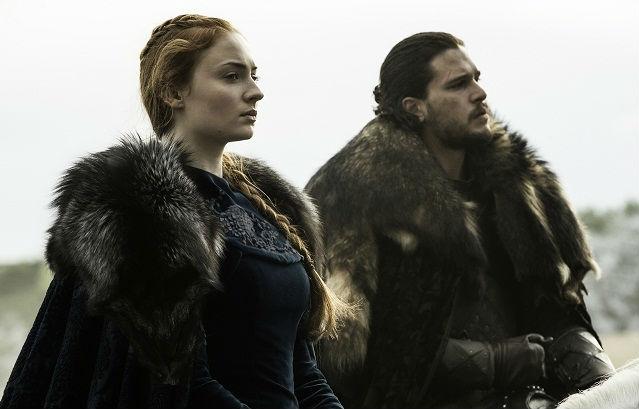 SANSA + JON FRA WINTERFELL (HBO)