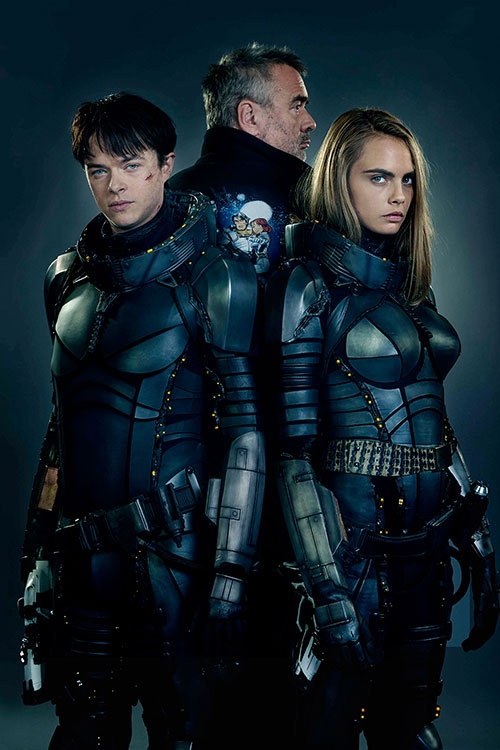 DANE ER VALERIAN, CARA ER LAURELINE, CLIVE ER ARUN FILITT (UNITED INTERNATIONAL PICTURES)