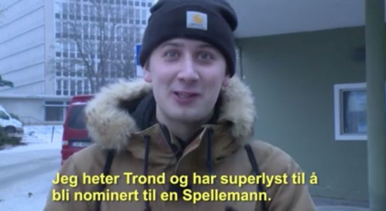 HVEM VIL IKKE DET, TROND (SKJERMBILDE/SPELLEMANN)
