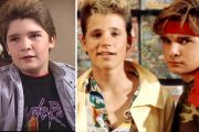 COREY FELDMAN I THE GOONIES OG MED COREY HAIM I THE LOST BOYS (WARNER BROS.)