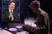 JIMMY FALLON MED PEDER LOSNEGÅRD (NBC)