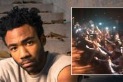 CHILDISH GAMBINO AKA DONALD GLOVER GJØR CHICAGO-KIDS GLADE (GLASSNOTE/UNIVERSAL)