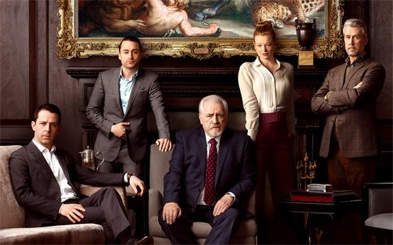FAMILIEDYNASTIET ROY ER ALDRI SÅ AVSLAPPET SAMMEN IRL (HBO)