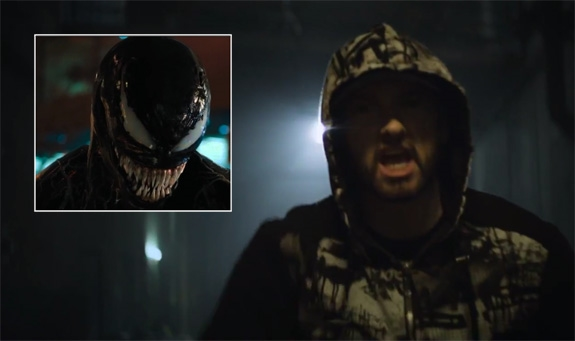 VENOM X SLIM SHADY (MARVEL/SONY, AFTERMATH/INTERSCOPE)