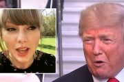 LITT MINDRE TAYLOR-STREAMS FRA DONALD FREMOVER (INSTAGRAM, YOUTUBE)