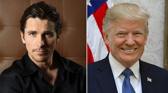 CHRISTIAN BALE MIMRER OM MØTET MED DONALD TRUMP (RED GRANITE/RELATIVITY, THE WHITE HOUSE)
