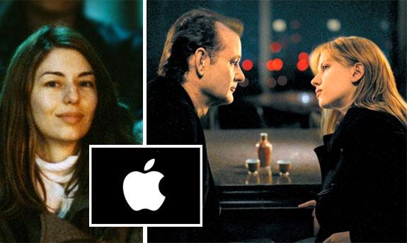 SOFIA COPPOLA OG SCENE FRA HENNES 2003-FILM LOST IN TRANSLATION MED BILL MURRAY OG SCARLETT JOHANSSON (FOCUS)