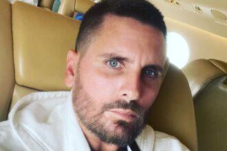 Scott Disick Instagram Kourtney Kardashian Travis Barker engagement reactions