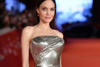 Angelina Jolie på Eternals-premieren på Rome Film Fest 2021 (Daniele Venturelli/WireImage)